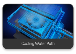 Cooling Water Path - 3D Video Animation