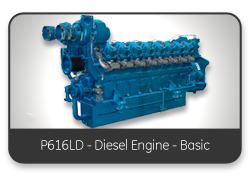 P616LD - Diesel Engine - Basic