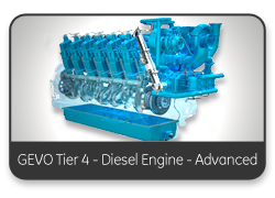 GEVO Tier 4 - Diesel Engine - Advanced