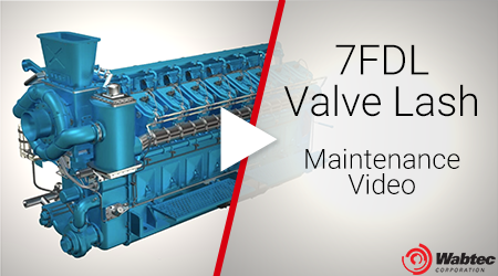 7FDL - Valve Lash - Maintenance Video